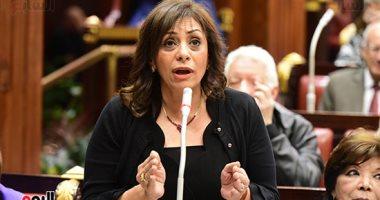 صور.. مارى لويس عضو القومى للمرأة تطالب بزيادة كوتة المرأة لـ30%