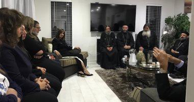صور.. وزيرة الهجرة تلتقى الجالية المصرية فى مدينة كرايستشيرش بنيوزيلند