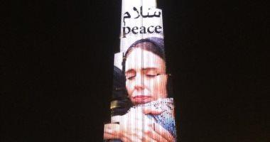 برج خليفة يتزين بصورة رئيسة وزراء نيوزيلندا.. وبن راشد: شكرا جاسيندا آردرن