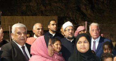 وزير الأوقاف: 7 لغات بمسجد الخطابة فى شرم الشيخ لنشر الفكر الوسطى