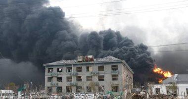 فيديو.. لحظة انفجار مصنع كيماويات فى الصين أودى بحياة أكثر من 50 شخصا