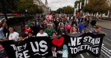 """صور.. """"مسيرة حب"""" تجوب نيوزيلندا وكندا تضامنا مع ضحايا هجوم المسجدين"""