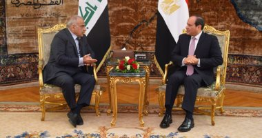 فيديو.. تفاصيل يوم رئاسي.. استقبال رئيس وزراء العراق ومدير برنامج الغذاء العالمى
