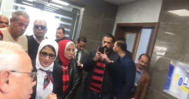 فيديو وصور.. وزيرة الصحة: شراكة مع القطاع الخاص لتشغيل مستشفيات التأمين الصحى ببورسعيد