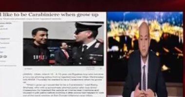 فيديو.. رامى شحاتة يحكى قصة إنقاذه 51 طفلا من الموت فى حافلة بإيطاليا