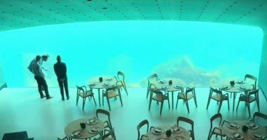 النرويج تنضم للقائمة.. أشهر مطاعم تحت الماء حول العالم.. فيديو وصور