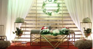 تجهيزات حفل زفاف نزيل بسجن الحائر