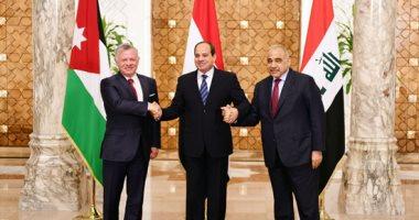 عبد الرحيم على يشيد بنتائج القمة الثلاثية بين مصر والأردن والعراق
