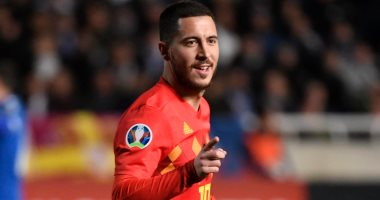 بلجيكا تتفوق على قبرص 0/2 فى الشوط الأول بتصفيات يورو 2020