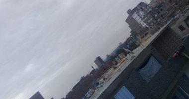 قارئ يشارك بصورة لحالة الجو بالزاوية الحمراء: السماء ملبدة بالغيوم