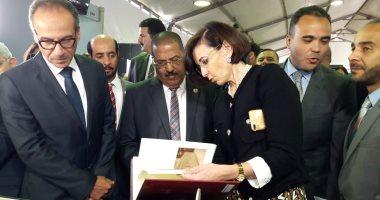 صور و فيديو.. افتتاح قاعات معرض الإسكندرية للكتاب بمشاركة 50 دار نشر