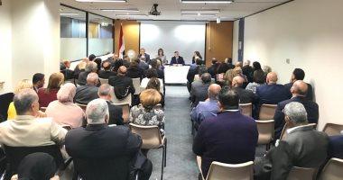 وزيرة الهجرة تلتقى الجالية المصرية فى ملبورن وتؤكد أنهم خط الدفاع الأول للوطن