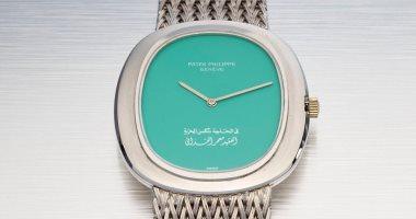02835224f صور.. بيع ساعة معمر القذافى بمزاد فى دبى.. اعرف سعرها كام - اليوم السابع