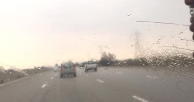 قارئ يشارك بصورة لسقوط أمطار غزيرة بالتجمع الخامس