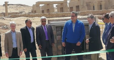 وزير الآثار:الوكالة الأمريكية قدمت 100مليون دولار للحفاظ على الإرث الحضارى
