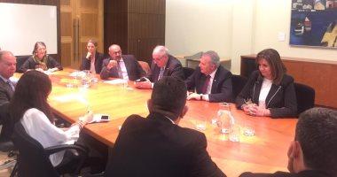 وزيرة الهجرة ونظيريها اليونانى والقبرصى يجتمعون مع جمعية الصداقة بالبرلمان الفيدرالى
