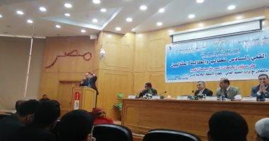 انطلاق فاعليات اختيار الطالب المثالى على مستوى الجامعات المصرية بجامعة الفيوم