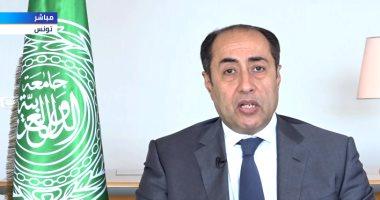 حسام زكى: اجماع عربى كامل على مطالب الرئيس الفلسطينى لاستعادة الحقوق