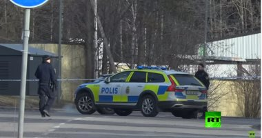 شاهد.. أثار انفجار بالمنطقة الصناعية فى العاصمة السويدية ستوكهولم