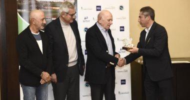 اتحاد الجولف يكرم الزرعونى وأبو طالب فى البطولة العربية الأولى للرواد