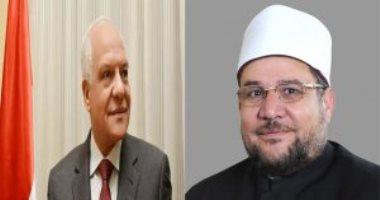 وزير الأوقاف يلتقى قيادات الدعوة بالجيزة ضمن احتفالات العيد القومى للمحافظة