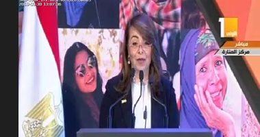 وزيرة التضامن: كل المؤشرات تعجز عن الإلمام بالتفاصيل الصغيرة فى حياة الأمهات