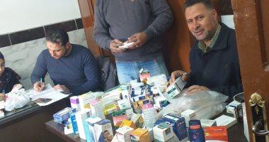 صور.. ضبط 250 صنفا من الأدوية البشرية منتهية الصلاحية فى حملة بالبحيرة