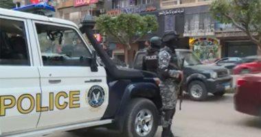 ضبط 7 عناصر إجرامية بأسوان بحوزتهم 500 أمبول مخدر وأسلحة نارية