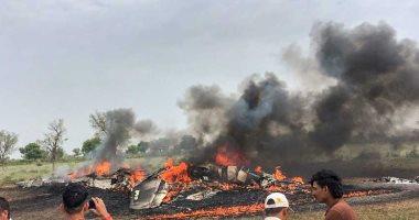 الجيش الليبى يسقط طائرة حربية للمليشيات فى مصراتة ويؤكد مقتل قائدها