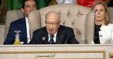 قائد السبسى يلتقى وزير دفاع تونس لبحث اجتماع اللجنة العسكرية الأمريكية