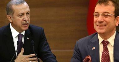 """فيديو.. """"أوغلو"""" بعد فوزه بإسطنبول ساخرا من أردوغان: """"هجننه خلال 1800 يوم"""""""