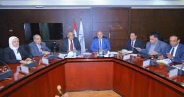 وزير النقل يلتقى رئيس الهيئة العربية للتصنيع للتعاون فى تطوير السكة الحديد