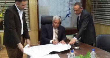 محافظ أسوان : إقامة مشروع تقسيم الشهيد هشام بركات على 13 فدان بمدينة البصيلية