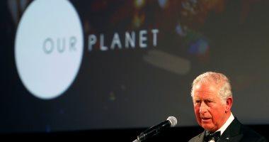 """العائلة المالكة فى بريطانيا تحضر العرض الأول لـ""""our planet"""""""