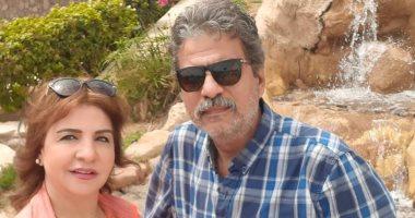 """فاطمة الكاشف لـ زوجها جمال عبد الناصر: """"عيد ميلادك أحلى عيد"""""""
