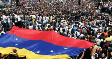 """زعيم المعارضة فى فنزويلا يدعو لتنظيم """"أكبر مسيرة فى التاريخ"""" لخلع مادورو"""