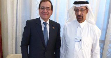 أسعار النفط والبحث والاستكشاف أهم محاور مباحثات وزيرى البترول المصرى والسعودى
