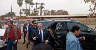 صور.. وزير الزراعة ومحافظ سوهاج يتفقدان محطة البحوث الزراعية بشندويل
