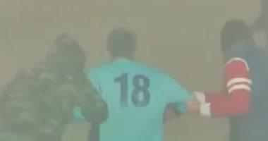 فيديو.. مطلعوش مافيا.. تعرف على حقيقة اختطاف لاعب كرة قدم فى مباراة بإيطاليا