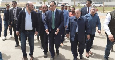 جولة رئيس الوزراء فى مدينة الروبيكى لتفقد سير العمل بها