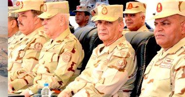 وزير الدفاع: لا تهاون أو تسامح مع كل من يحاول زعزعة استقرار مصر وحدودها