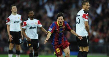 شاهد كل أهداف ميسي أمام الإنجليز قبل قمة برشلونة ضد مانشستر يونايتد