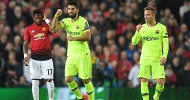 موعد مباراة برشلونة ضد مان يونايتد فى دوري أبطال أوروبا