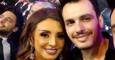 أنغام وأحمد إبراهيم يؤديان مناسك العمرة بعد حفل ناجح بالسعودية