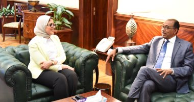 وزيرة الصحة تستقبل مدير برنامج مكافحة الإيدز بالأمم المتحدة
