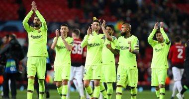 ميسي وسواريز على رأس قائمة برشلونة ضد مانشستر يونايتد فى دوري الأبطال