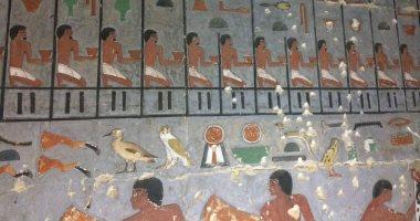 """أمين الأعلى للآثار: مقبرة """"خوى"""" تحاكى أهرامات الأسرة الخامسة"""