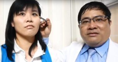 """فتاة تايوانية """"طلعوا من عنيها 4 نحلات"""" تتغذى على دموعها .. اعرف التفاصيل"""