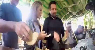 """فيديو.. """"بياع فول"""".. وائل عبد العزيز يكشف لـON set عن شخصيته بـ""""عفريت تايسون"""""""