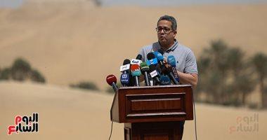 وزير الآثار: حرص السفراء على حضور الاكتشافات مفاجأة.. وكشفان جديدان الأربعاء